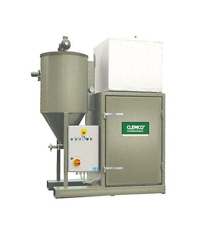 Strahlmittel-Sauganlagen für die Rückgewinnung von 2 - 6 Tonnen/h