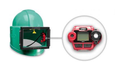 Strahlerschutz PSA Kohlenmonoxyd Warngeräte