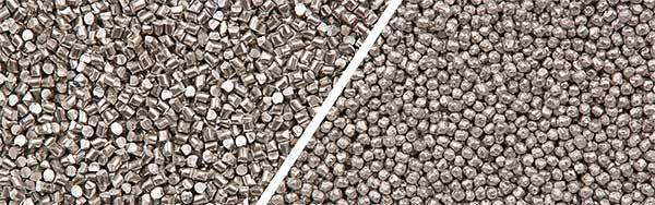 Strahlmiitel Aluminiumdrahtkorn